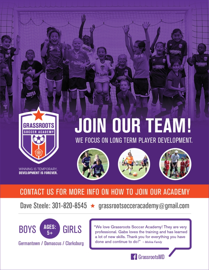 Grassroots Join Our Team flyer 2020
